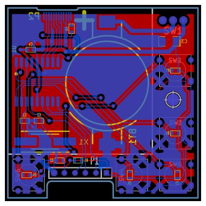 PIC Blitz printed circuit board